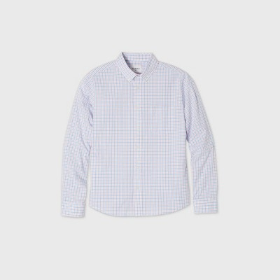 Men's Untucked Slim Fit Button-Down Shirt - Goodfellow & Co™