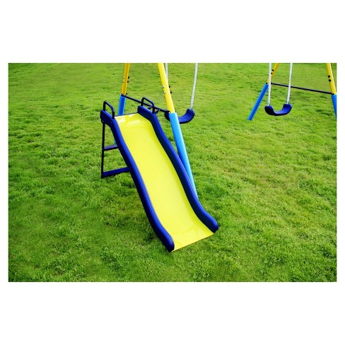 Sportspower My First Metal Swing Set Yellow Blue Target