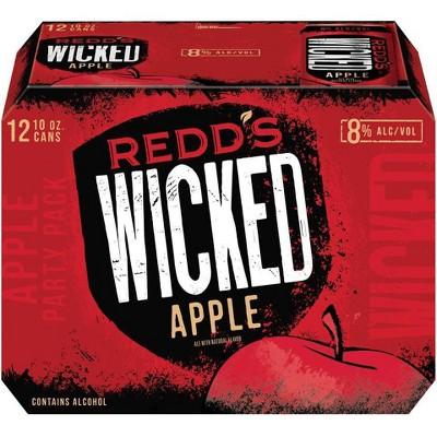 Redd's Wicked Apple Ale - 12pk/10 fl oz Cans