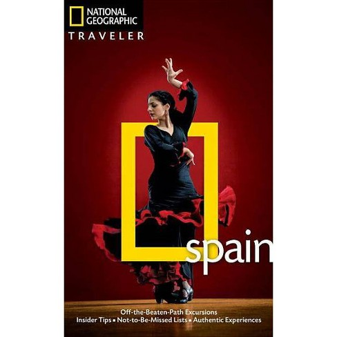 National Geographic Traveler: Spain - (National Geographic Traveler Spain) 4 Edition by  Fiona Dunlop - image 1 of 1
