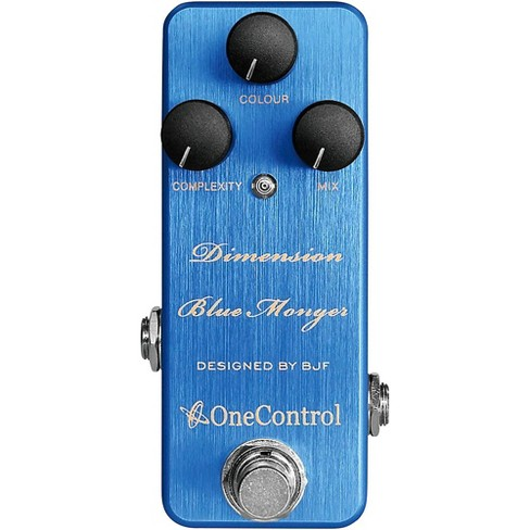 One Control Dimension Blue Monger Modulation Effect Pedal - image 1 of 1