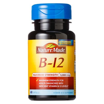 Vitamins & Supplements: Nature Made Maximum Strength B12