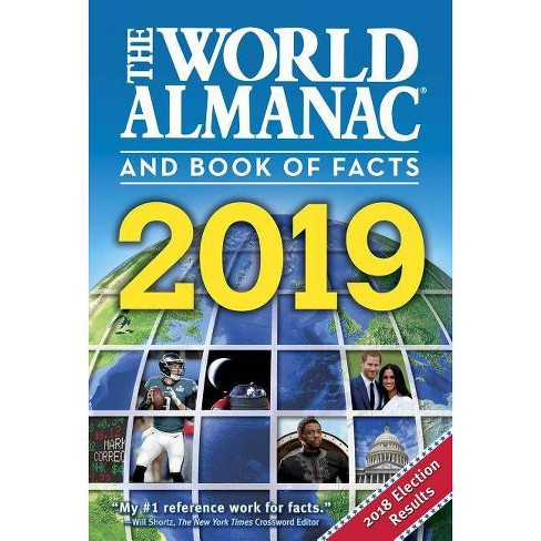 The World Almanac and Book of Facts 2019 - (Hardcover)