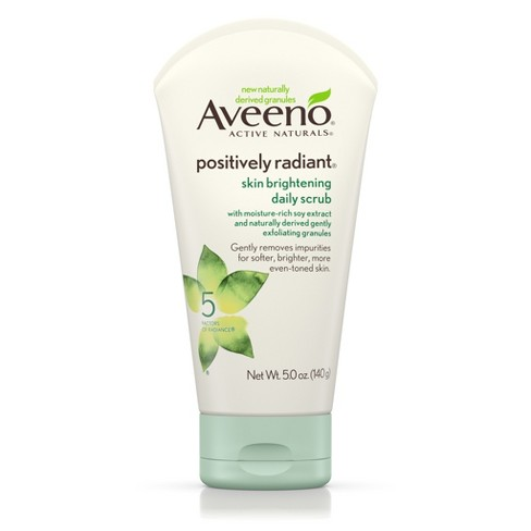 Aveeno® Positively Radiant® Skin Brightening Daily Scrub- 5 Oz - image 1 of 8
