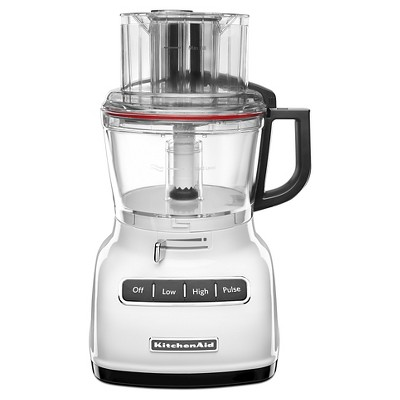 KitchenAid 9 Cup Food Processor with ExactSlice System - KFP0933WH