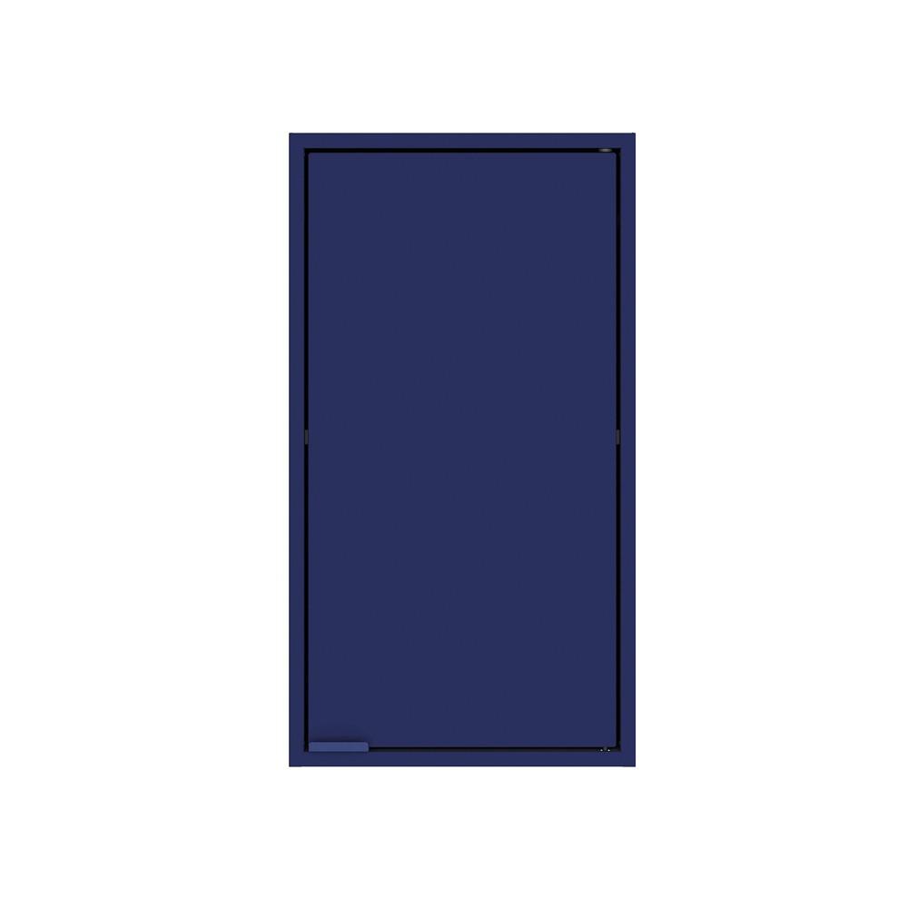 """Image of """"13.77"""""""" Smart Floating Cabinet Blue - Manhattan Comfort"""""""