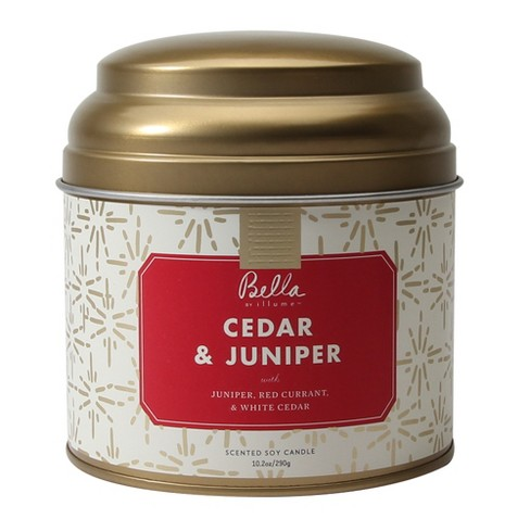 Lidded Tin Container Candle Cedar & Juniper 10.2oz - Bella by Illume - image 1 of 1