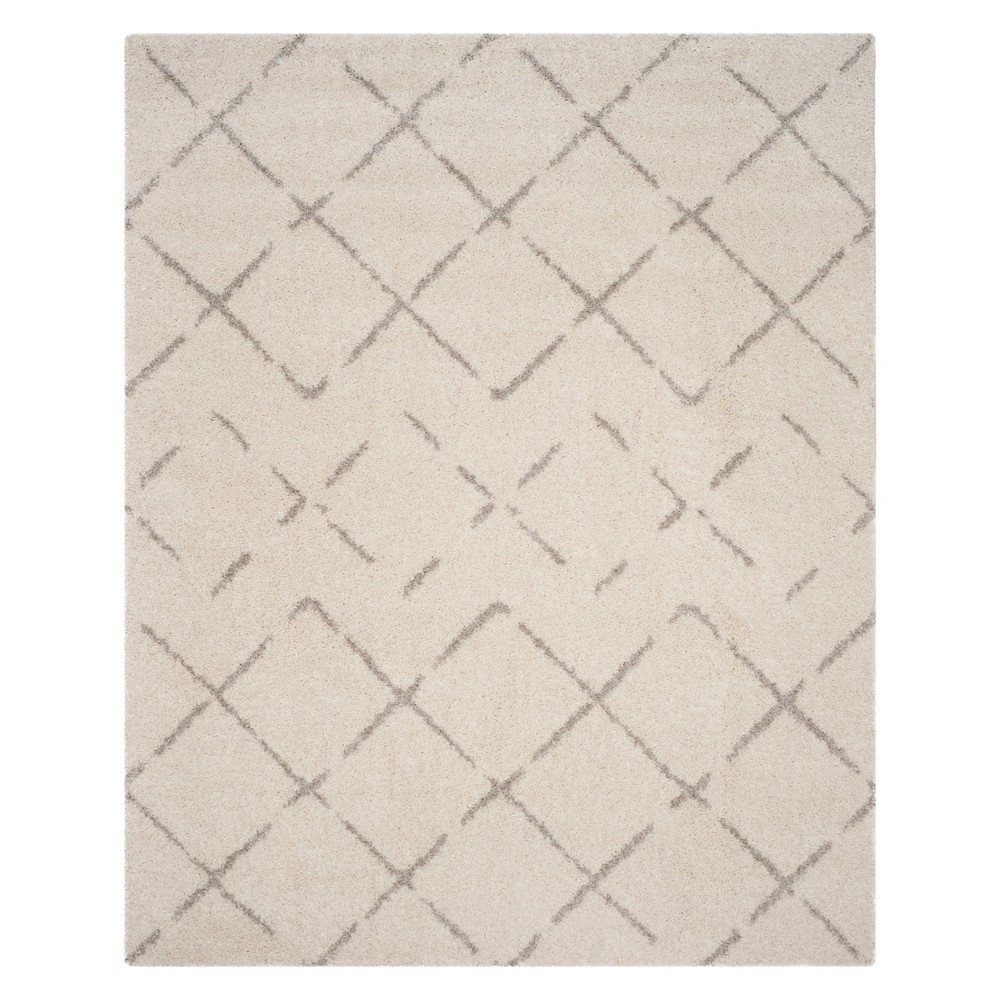Crosshatch Area Rug Ivory/Beige