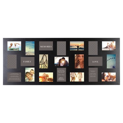21 Opening Black Collage Frame - Gallery Solutions
