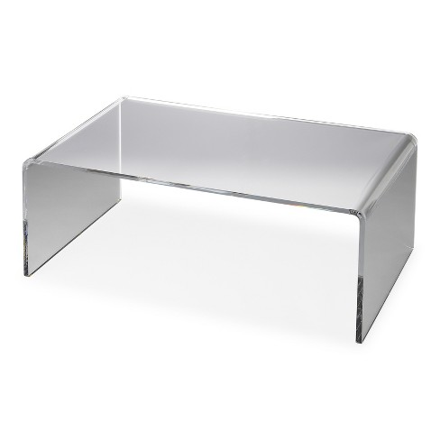 Butler Specialty Crystal Clear Acrylic Coffee Table Butler Loft - image 1 of 3