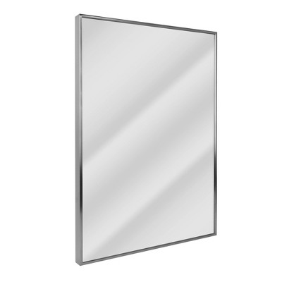 "22"" x 34"" Spectrum Brushed Mirror Nickel - Head West"