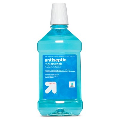 Mouthwash: up & up Antiseptic Mouthwash