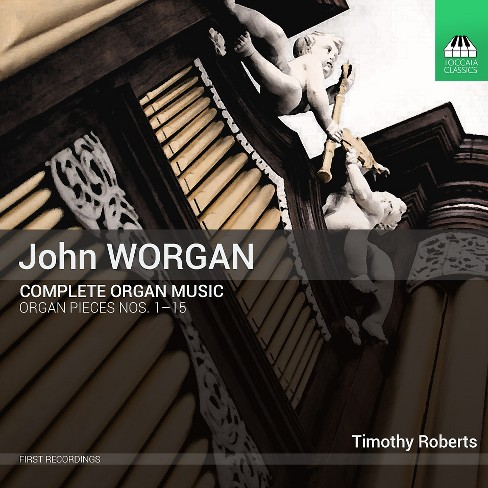 Timothy roberts - Worgan:Complete organ music (CD) - image 1 of 1