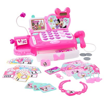 Minnie Mouse Shop N' Scan Talking Cash Register