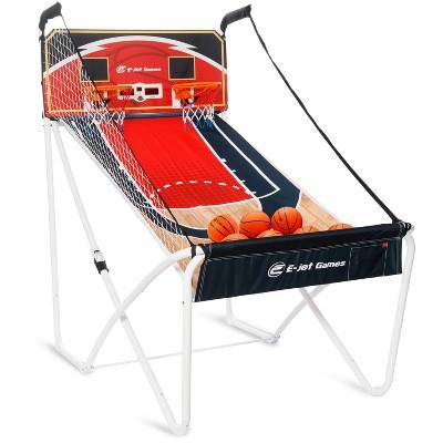 E-Jet Sports Online Bluetooth Arcade Basketball Game Set - Blue