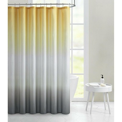 Kate Aurora Living Multi Color Ombre Fabric Shower Curtain