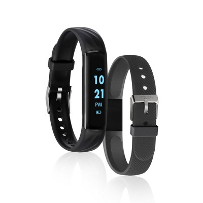 iTouch Slim Fitness Tracker- Black Band