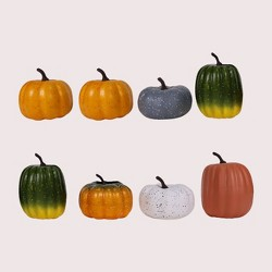 8pc Foam Pumpkins - Bullseye's Playground™