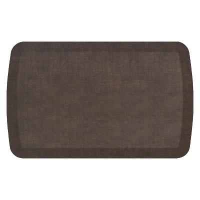 """20""""x32"""" Woven Kitchen Floor Mat Dusty Brown - GelPro"""