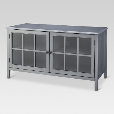 Windham TV Stand Gray - Threshold™