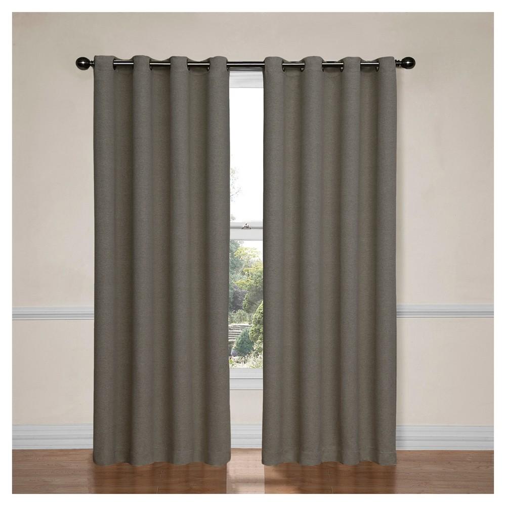Bobbi Thermaweave Blackout Curtain Grey (52
