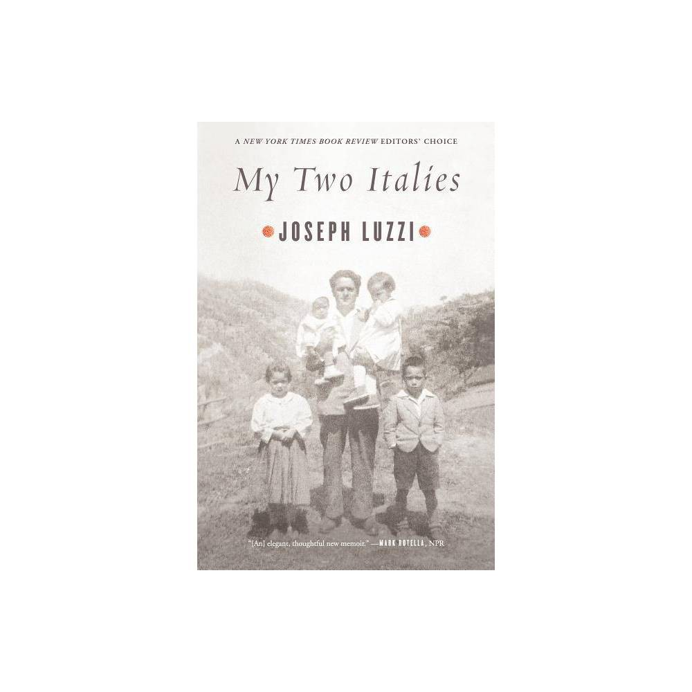 My Two Italies By Joseph Luzzi Paperback