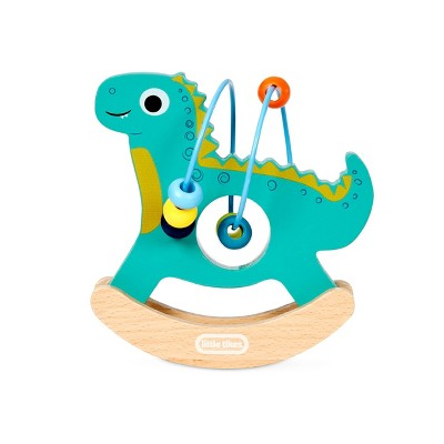 Wooden Critters Busy Beads - Dino
