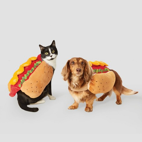 Hot Dog Halloween Dog and Cat Costume - Hyde & EEK! Boutique™ - image 1 of 1