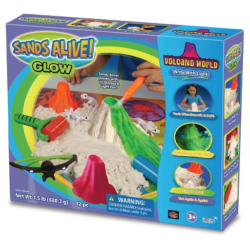 Sands Alive Glow!® Volcano World - image 1 of 1