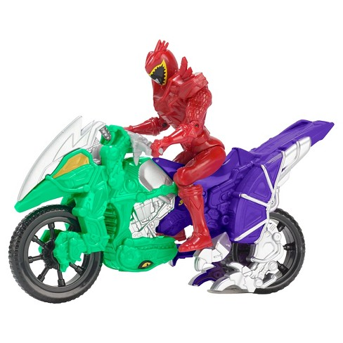 Power Rangers Dino Super Charge - Dino Cycle and T-Rex Super Charge Red Ranger - image 1 of 3