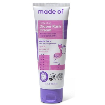 MADE OF Organic Diaper Rash Cream - 3.4oz