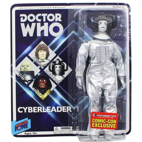 """Doctor Who Cyberleader Retro Clothed 8"""" Action Figure - image 1 of 2"""