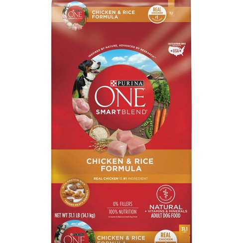 Purina ONE Adult SmartBlend Chicken and Rice Dry Dog Food - image 1 of 4