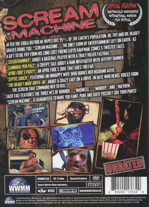 Scream machine (DVD) - image 1 of 1