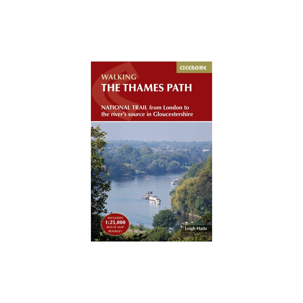 Cicerone Walking the Thames Path : From London to the River's Source in Gloucestershire (New)