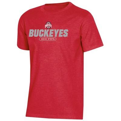 NCAA Ohio State Buckeyes Boys' Short Sleeve Crew Neck T-Shirt