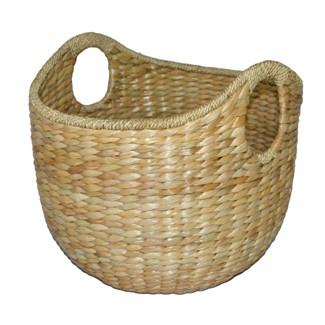 """16""""x18"""" Aseana Large Round Market Basket Khaki - Threshold™"""