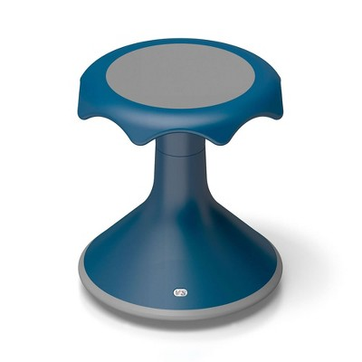 "VS America Hokki Stool Flexible Ergonomic Seating -  15"" Blue"