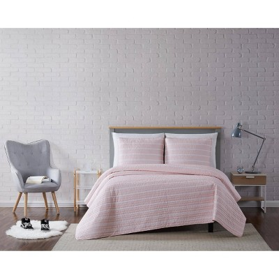 Truly Soft Everyday Maddow Stripe Quilt Set