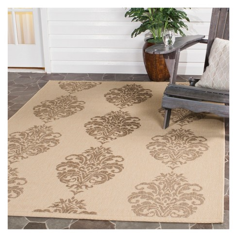 Orly Outdoor Rug Natural Brown 4 X 57 Safavieh Target