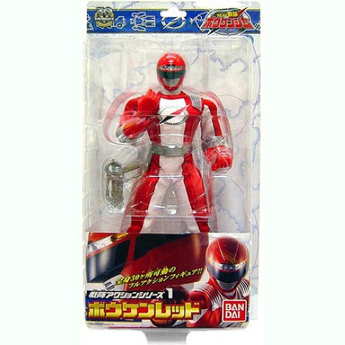 Power Rangers Operation Overdrive Red Ranger Action Figure [Japanese] - image 1 of 1