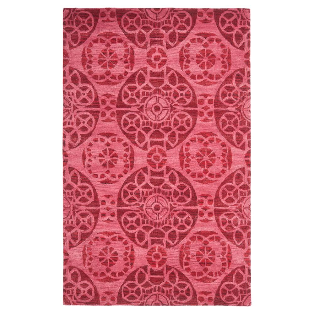 Jermayne Area Rug - Red (5'x8') - Safavieh
