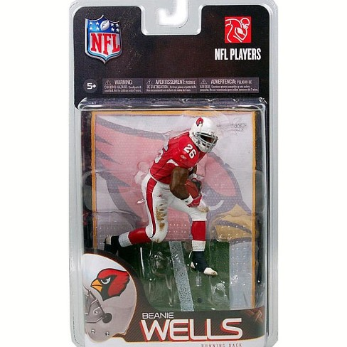 McFarlane Toys NFL Arizona Cardinals Sports Picks Series 23 Beanie Wells Action Figure - image 1 of 1