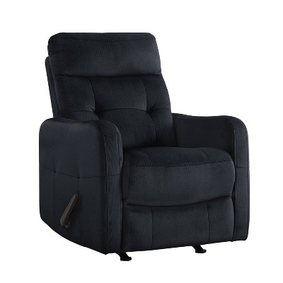 Rocker Recliner Chair Navy Blue - Prolounger