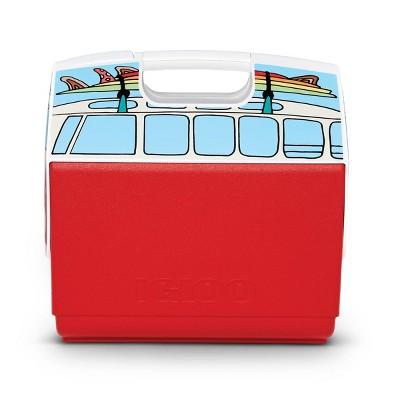 Igloo Playmate Elite Volkswagen VW Bus Portable Cooler - Red
