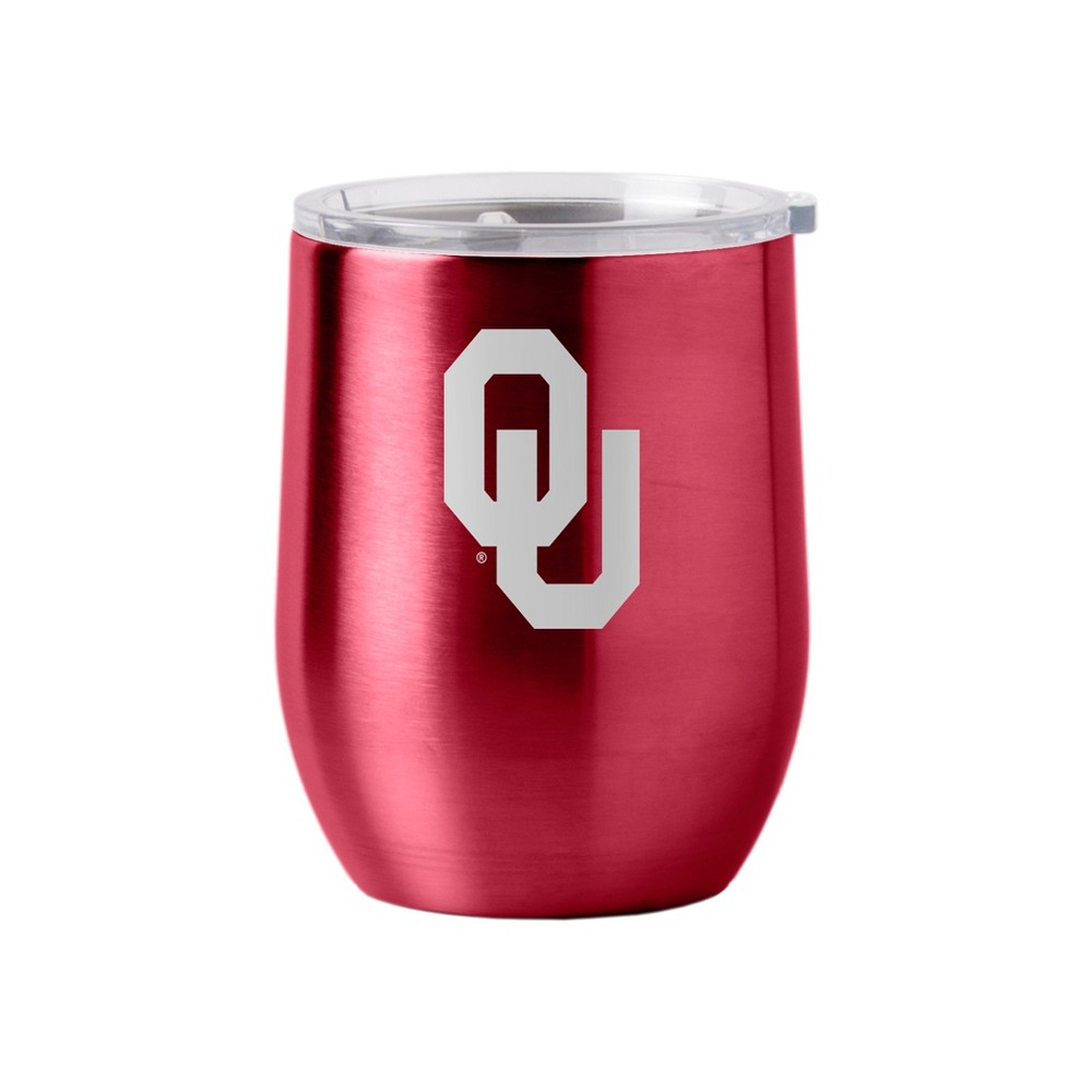 Oklahoma Sooners Stainless Steel Ultra Curved Wine Tumbler - 16oz