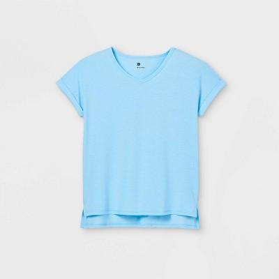 Girls' V-Neck T-Shirt - All in Motion™
