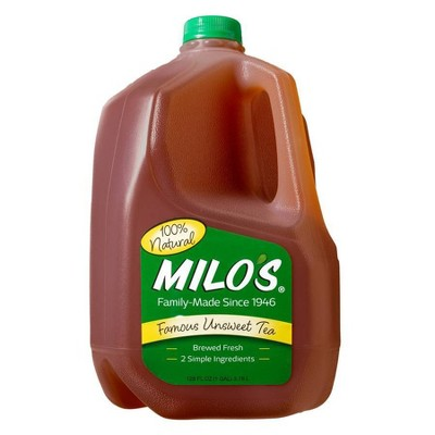 Milo's All Natural Unsweet Tea - 1gal