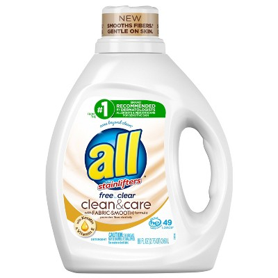 All Clean and Care Laundry Detergent - 88 fl oz