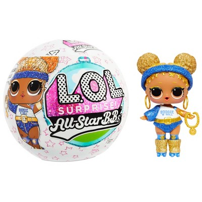 L.O.L. Surprise! All-Star Sports Series 4 Summer Games Sparkly Dolls with 8 Surprises